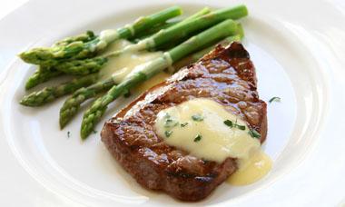 steak mit spargel cook it yourself. Black Bedroom Furniture Sets. Home Design Ideas