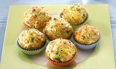 herzhafte zucchini muffins cook it yourself. Black Bedroom Furniture Sets. Home Design Ideas